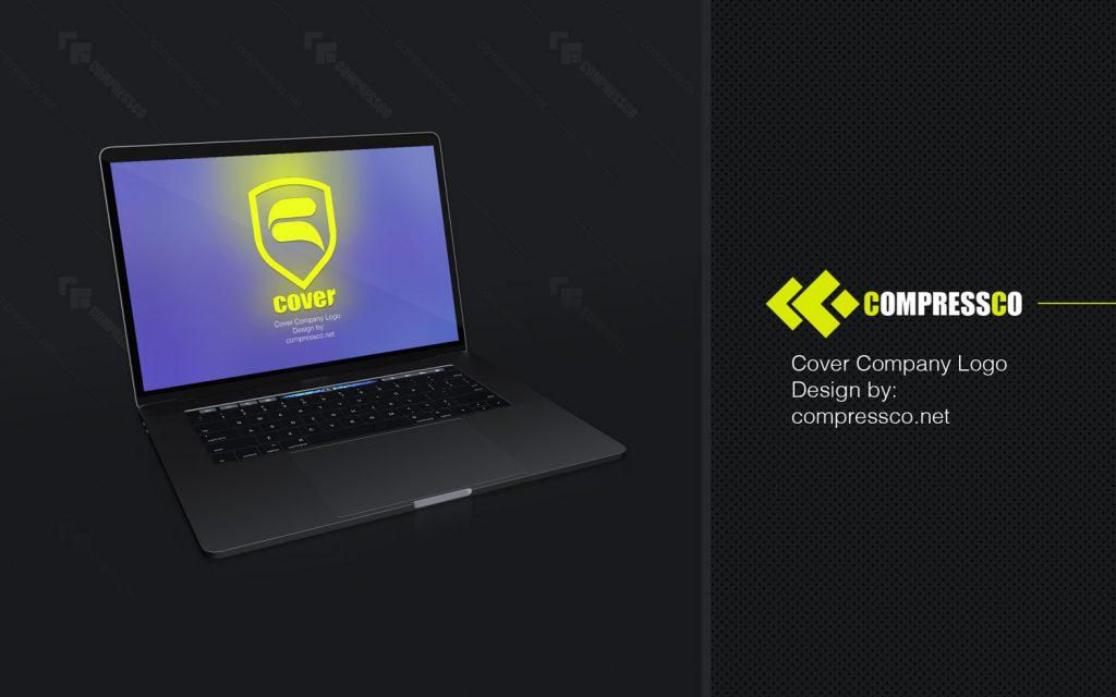 طراحی لوگو وب سایت فروشگاهی کاور
