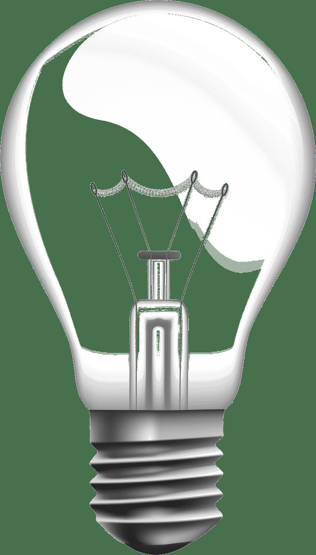 آموزش ترکیب تصاویر لامپ و جنگل