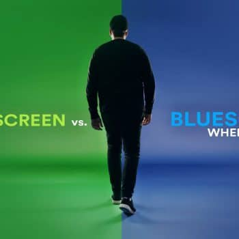پرده سبز یا پرده آبی و تفاوت این دو پرده